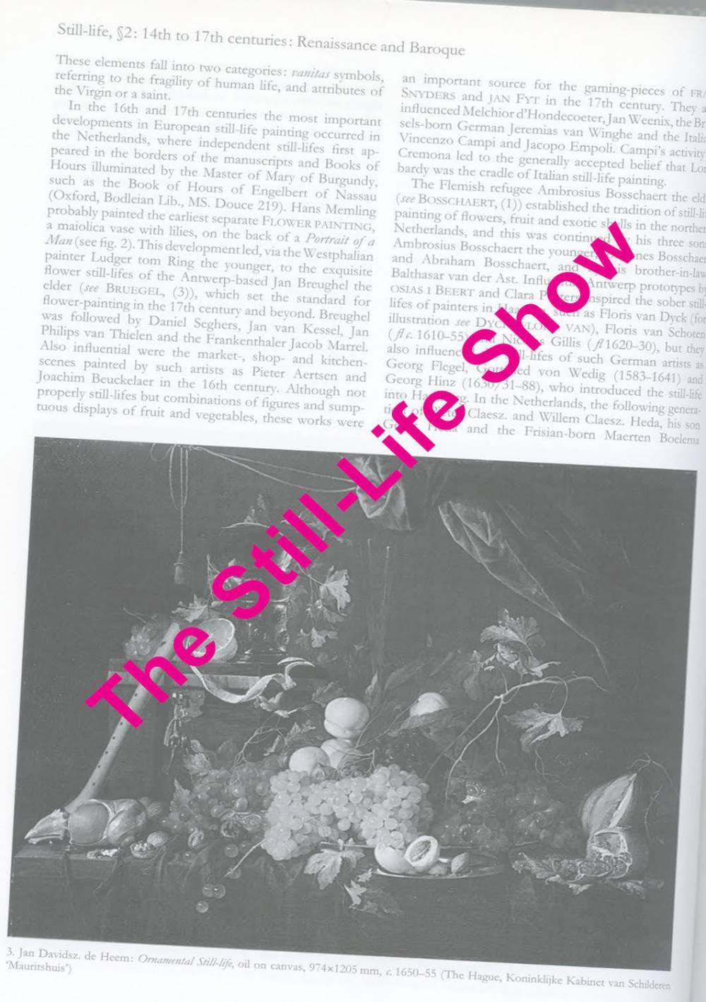 The Still - Life Show